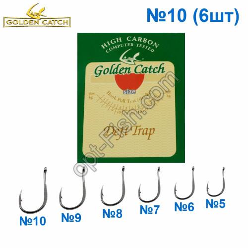 Крючок GC красный Deft Trap №10 (6шт) 5547210 *