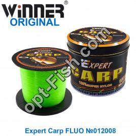 Леска Winner Original Expert Carp FLUO №012008 1000м 0,32мм *