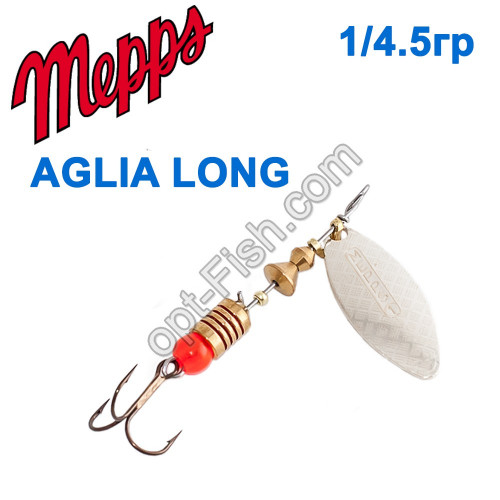 Aglia long srebrna-silver 1/4,5g