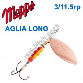Aglia long miedzianna-cooper 3/11,5g