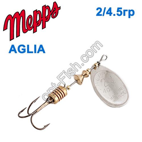 Aglia srebrna-silver 2/4,5g