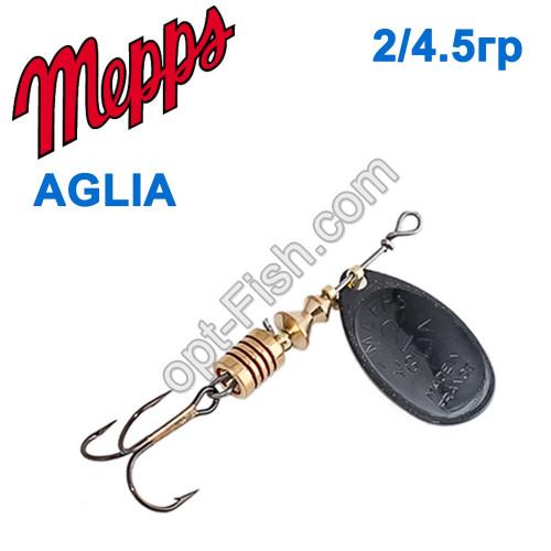 Aglia czarna-black 2/4,5g
