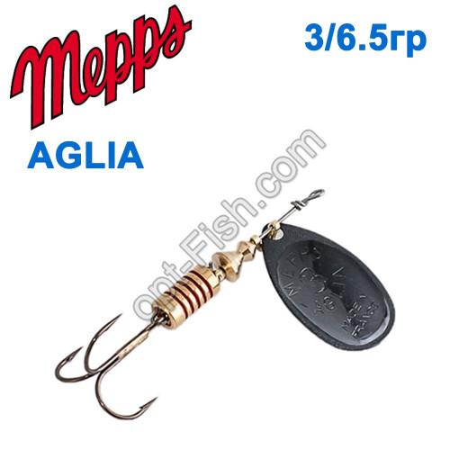 Aglia czarna-black 3/6,5g