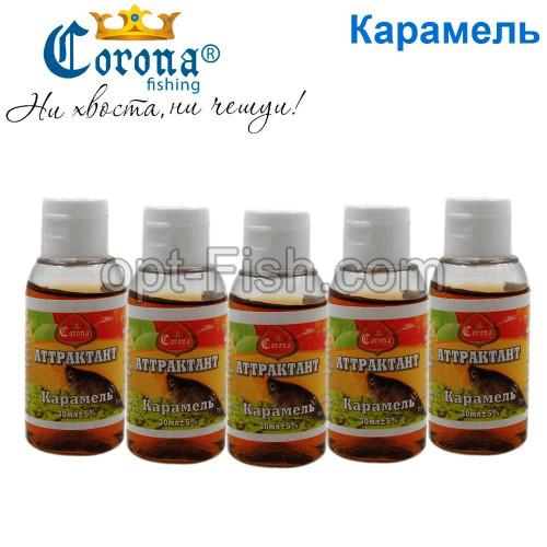 Атрактанти Corona 30мл карамель