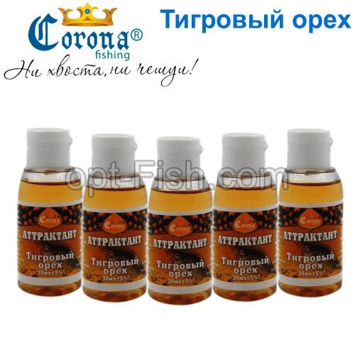 Аттрактант Corona 30мл тигровый орех