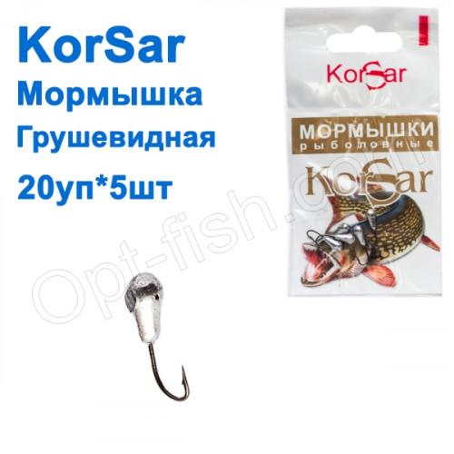 Блешня Korsar грушоподібна (20x5шт)