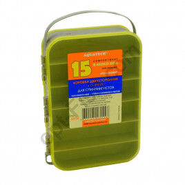 Коробка Adams 2х-сторонняя 15 ячеек 2515