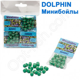 Минибойлы Dolphin 6х10 мм анис (10шт)