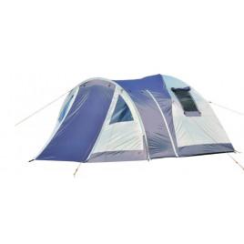 Туристическая 3-х местная палатка Lanyu 1912 (90+90+210)х210х150
