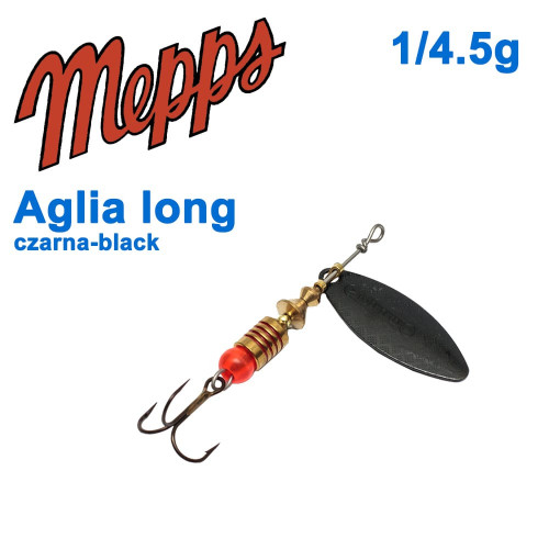 Aglia long czarna-black 1/4,5g