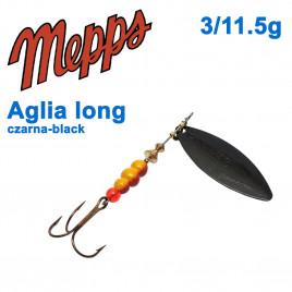 Aglia long czarna-black 3/11,5g