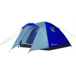 Туристическая 3-х местная палатка Lanyu 1637 (220+90)х220х155