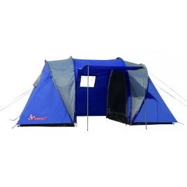 Туристическая 4-х местная палатка Lanyu 1699 (150+150+150)х220х180